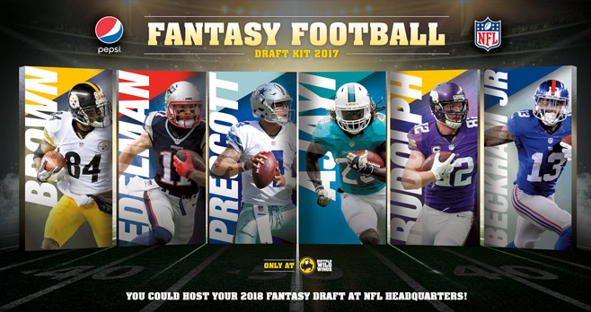 Pepsi Fantasy Football Sweepstakes 2017 Presented By Buffalo Wild Wings