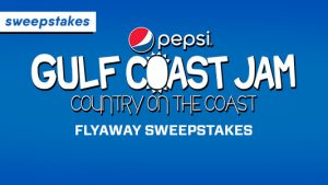 CMT Pepsi Gulf Coast Jam Fly Away Sweepstakes