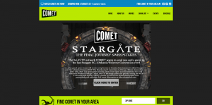 COMET Stargate The Final Journey Sweepstakes