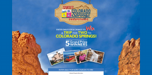 Domino Sugar Sweet Colorado Springs Sweepstakes