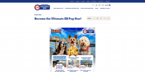 Eggland's Best Become the Ultimate EB Pup Star Sweepstakes