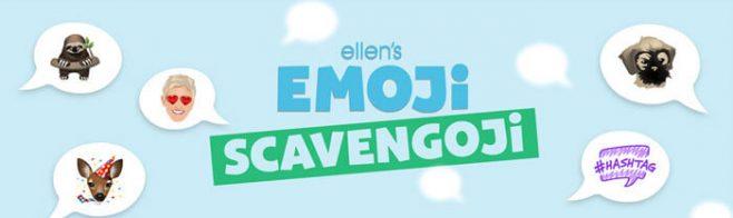 ellentv.com/emoji - Ellen's Emoji Scavengoji Contest