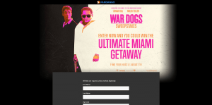 Fandango War Dogs Sweepstakes