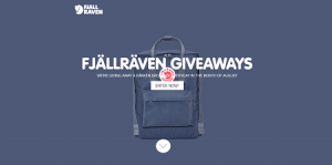 FJALLRAVEN USA Bag-A-Day Giveaway