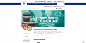 GE Appliances Now You're Cooking Sweepstakes