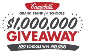Campbell's Grand Stand for Schools $1,000,000 Giveaway