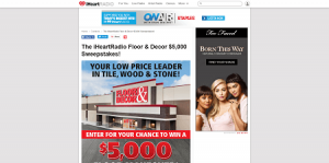 iHeartRadio Floor & Decor $5,000 Sweepstakes