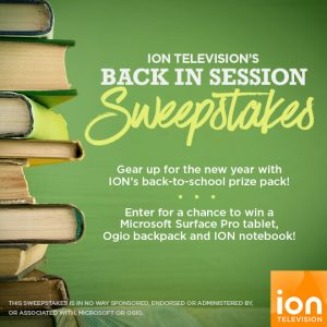 ION Television Back In Session Sweepstakes