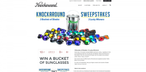 Knockaround 3 Buckets Of Shades Sweepstakes