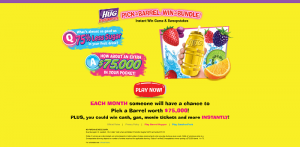 Little Hug Pick a Barrel, Win a Bundle Instant-Win Game & Sweepstakes