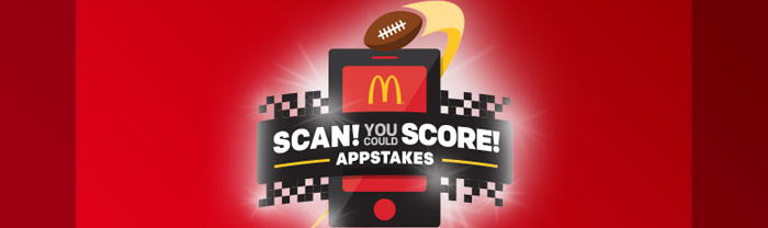 MCDONALD'S SCAN! YOU COULD SCORE! APP SWEEPSTAKES
