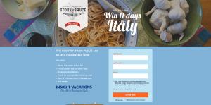 Mezzetta's Explore Italy Sweepstakes