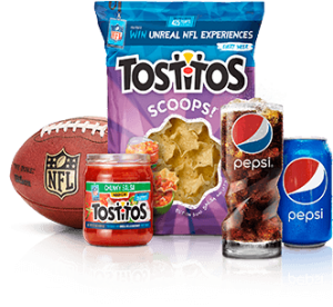 pepsi and tostitos products