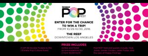 Entertainment Weekly PopFest Sweepstakes