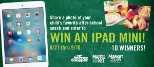 Price Chopper Back to School Photo Contest