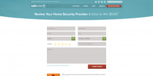 SafeWise.com Leave A Review To Win Sweepstakes