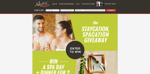 SpaWeek Staycation, Spacation Giveaway
