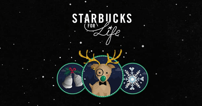 Starbucks For Life 2016 Holiday Edition (StarbucksForLife.com)