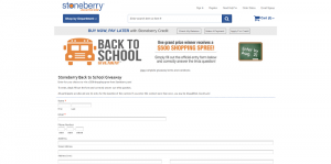 Stoneberry Back to School Giveaway
