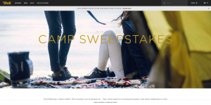 Teva Camp Season Sweepstakes