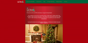 GFP ULTIMA Christmas in August Sweepstakes