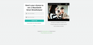 WearSmith Breathalyzer Contest