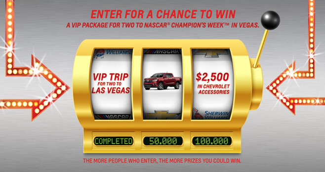 Win Your Chevy Sweepstakes 2017 (WinYourChevy.com)