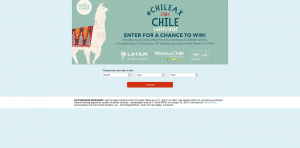 Whole Foods Market #Chileax in Chile Sweepstakes