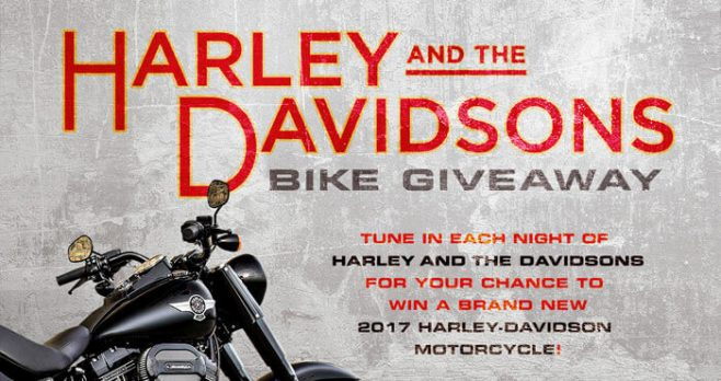 Discovery.com/BikeGiveaway - Harley and the Davidsons Bike Giveaway (Code Word)
