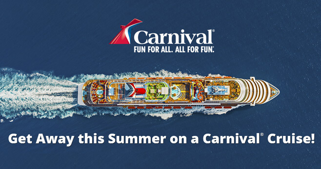 Ellen Carnival Cruise Sweepstakes 2017