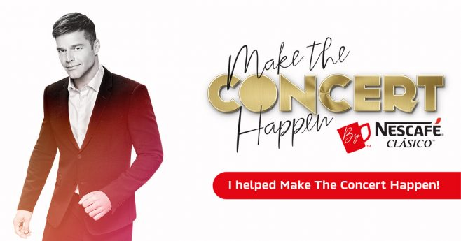 NESCAFÉ Clásico Make the Concert Happen Sweepstakes