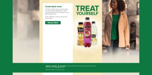 Minute Maid Treat Yourself Instant Win Game