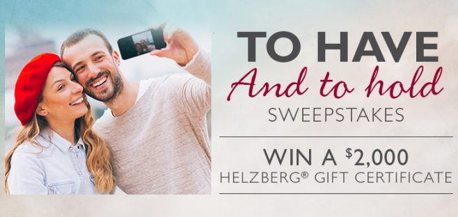 Helzberg Diamond To Have And To Hold Sweepstakes