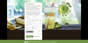 McAlister's Deli Unlock the Florida Keys Promotion