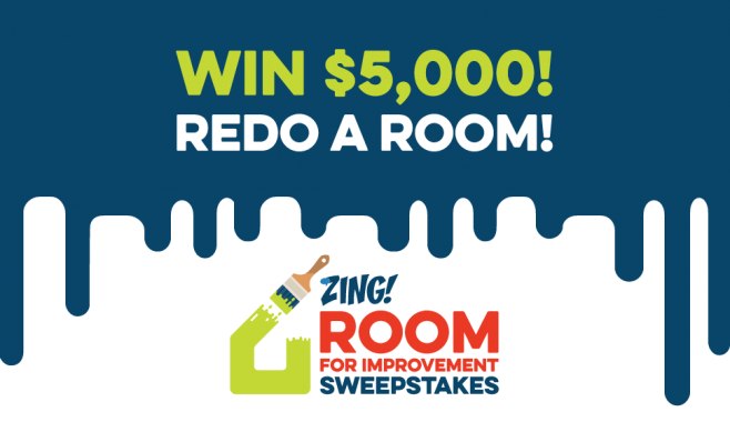 Zing Room for Improvement Sweepstakes 2016