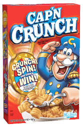 Cap'n Crunch Game Code