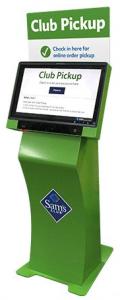 club pickup kiosk