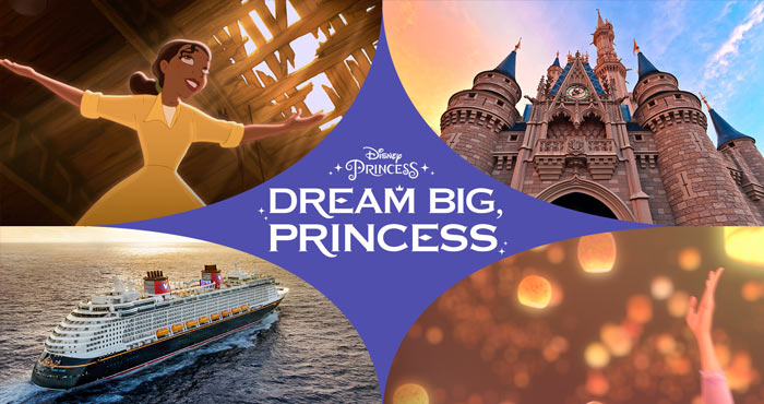 Disney.com/DreamBigPrincessSweepstakes - Disney Dream Big, Princess Sweepstakes