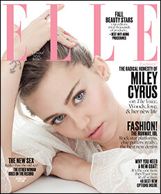 elle magazine cover october 2016