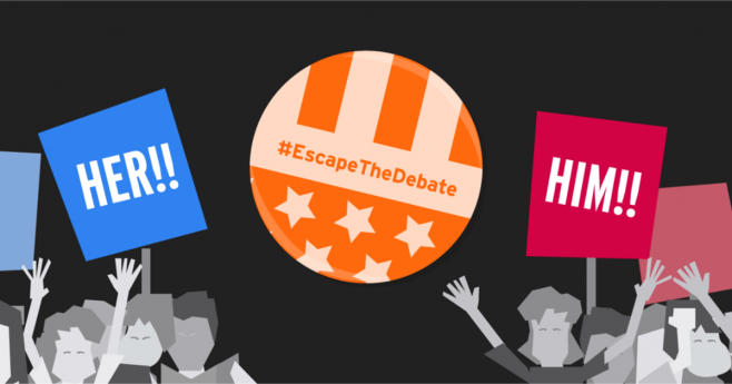 Kayak Escape The Debate Sweepstakes