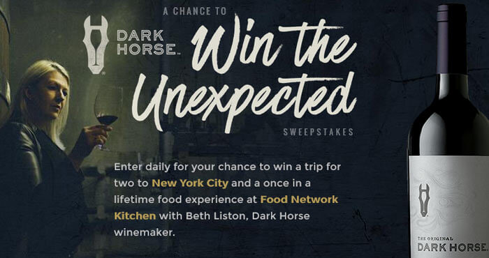 FoodNetwork.com/WinTheUnexpected - A Chance To Win The Unexpected Sweepstakes