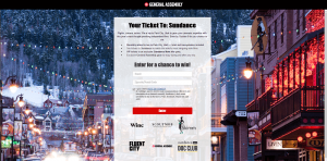 General Assembly Win a Trip to Sundance Sweepstakes