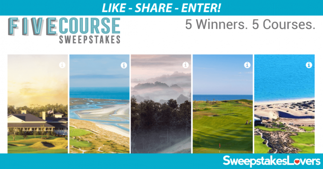 GolfAdvisor.com/FiveCourse - Golf Advisor's Five Course Sweepstakes
