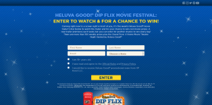 Dip Flix Movie Festival Heluva Good! Trailer Sweepstakes