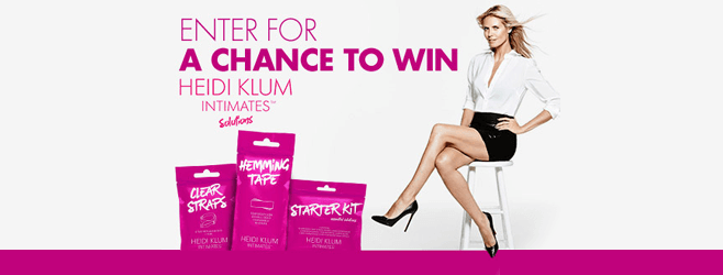 HKSolutionsSweeps.com - Bed Bath & Beyond HEIDI KLUM INTIMATES Solutions Sweepstakes
