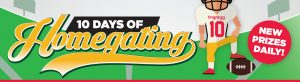 hhgregg 10 Days of Homegating Sweepstakes
