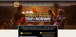 2016 Jarlsberg Cheese 60th Anniversary Promotion