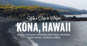Peet's Coffee Kona Big Kahuna Giveaway