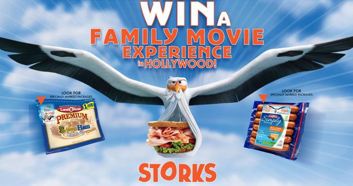 LandOFrost.com/Storks - Land O Frost Storks Sweepstakes