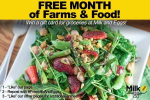 Milk And Eggs Free Month Of Farms & Food Giveaway